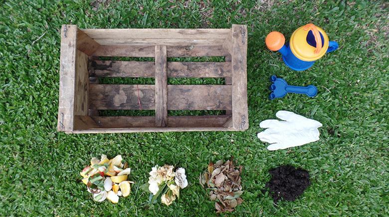 cómo hacer compostera casera